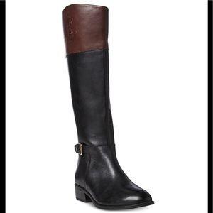 Lauren Ralph Lauren Madisen 11 leather riding boot